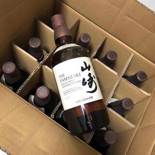 サントリー - 山崎 シングルモルトウイスキー ノンヴィンテージ 700ml 12本 (1ケース