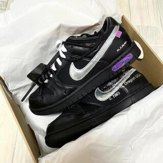 Off-White x Nike Dunk Low lot50 (スニーカー)