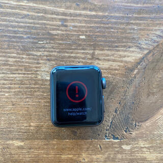 Apple Watch - アップルウォッチ Apple Watch series 3 38mm ジャンク
