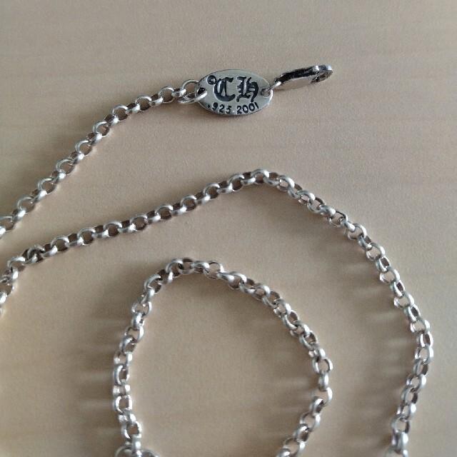 Chrome Hearts(クロムハーツ)の925銀 ネックレス CHROME HEARTS クロムハーツ メンズのアクセサリー(ネックレス)の商品写真