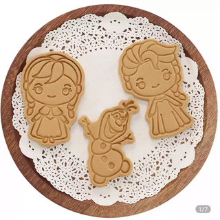 Disney - アナ雪 クッキー型 3個セット☆