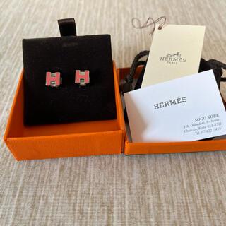 Hermes - 【未使用】エルメス ピアス ビンテージ カージュ ドアッシュ