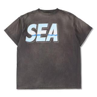 Lサイズ WIND AND SEA × ©SAINT M×××××× TEE