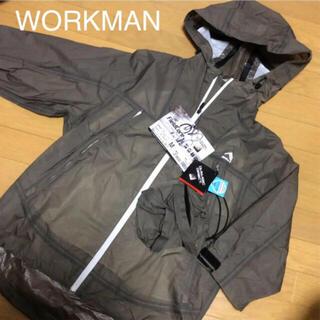 ウォークマン(WALKMAN)のワークマン 透湿レインパーカーポンチョ (レインコート)
