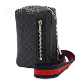 Gucci - グッチ GGスプリーム ボディバッグ ベルトバッグ ブラック 478325
