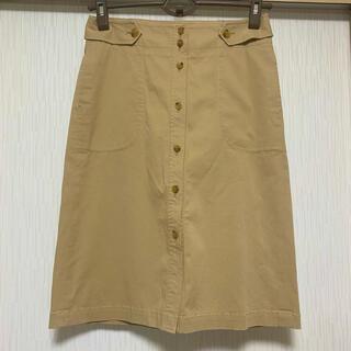 セオリー(theory)のtheory ボタンデザインスカート(ひざ丈スカート)