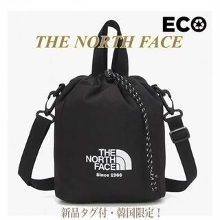 THE NORTH FACE - 【新品】SALE!ノースフェイス ショルダー クロス ブラック巾着 トートバッグ