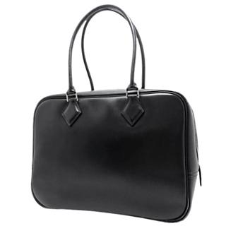 エルメス(Hermes)のエルメス ハンドバッグ プリュム28 ボックスカーフ 黒 40802004518(ハンドバッグ)