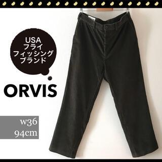 ORVIS★USAフライフィッシングウェアブランド★コーデュロイパンツw94cm