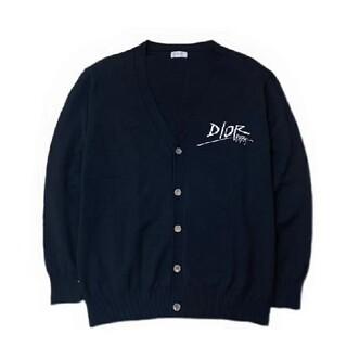 ディオール(Dior)のDIOR♥男女兼用カジュアルニットカーディガン(ニット/セーター)