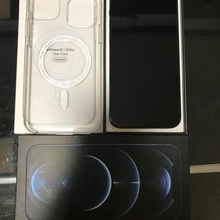 Apple - 【SIMフリー】iPhone12 Pro 256GB パシフィックブルー 美品