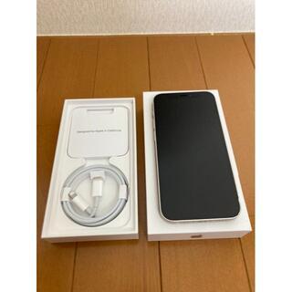 iPhone - iPhone12 mini ホワイト 64GB SIMフリー レザーケース付き