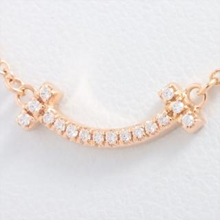 Tiffany & Co. - ティファニー Tスマイル マイクロ   PG レディース ネックレス