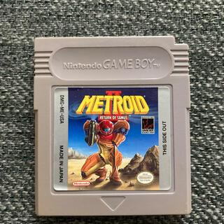 ゲームボーイ(ゲームボーイ)のメトロイド2 海外版(携帯用ゲームソフト)