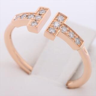 Tiffany & Co. - ティファニー Tワイヤー   PG ユニセックス リング・指輪