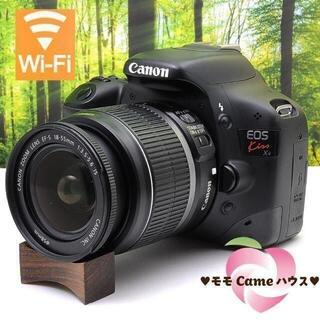 Canon - キヤノン Kiss X4一眼レフ☆スマホに写真転送OK♪2016