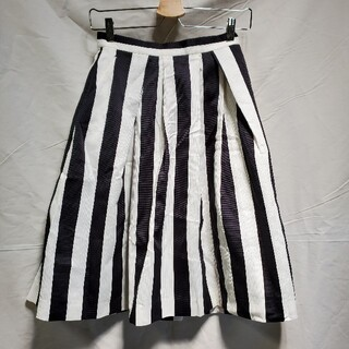 Noble - ●新品●ノーブル(noble)ストライプ スカート