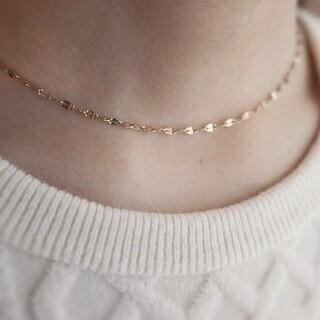 IENA - 【再入荷】Petalchain necklace / Gold
