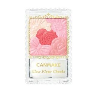 CANMAKE - キャンメイク(CANMAKE) グロウフルールチークス 06 ミルキーレッドフル