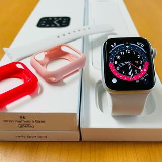 Apple Watch - 9/29まで出品【美品】Apple Watch SE セルラー オマケ付き