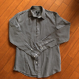 H&M - メンズ スリムフィット チェックシャツ 長袖