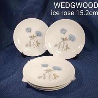 WEDGWOOD - ウェッジウッドWEDGWOODアイスローズ15.2cmデザートプレート5枚組