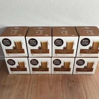 Nestle - 【新品】ドルチェグスト カプセル カフェオレ 8箱分 (128杯分)