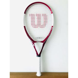 wilson - 【美品】ウィルソン『Nコード N5/NCODE』テニスラケット/レッド/G2