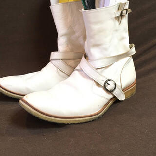VISARUNO ビサルノ ブーツ ホワイト 261/2 26.5cm(ブーツ)
