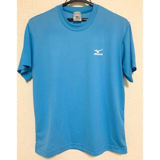 MIZUNO - MIZUNO ミズノ Tシャツ 水色 全球入魂 スポーツウェア