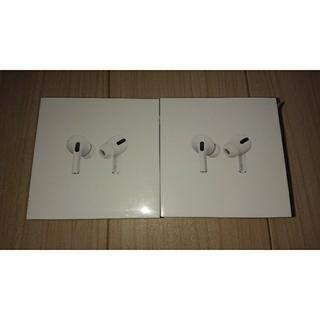 Apple - AirPods Pro MWP22J/A 新品未開封 保証未開始 2台セット