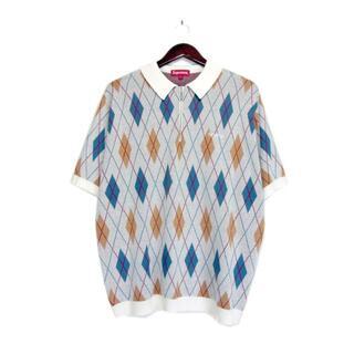 Supreme - シュプリームSupreme■21AW Argyle Zip Poloポロシャツ