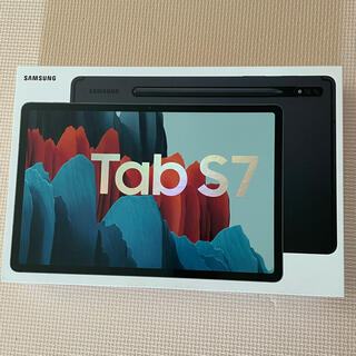 サムスン(SAMSUNG)のGALAXY Tab S7 Wi-Fi 128G 美品 純正ケース付き(タブレット)