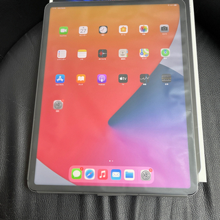 iPad - SIMフリー美品iPad Pro 12.9 第5世代 256gb グレー
