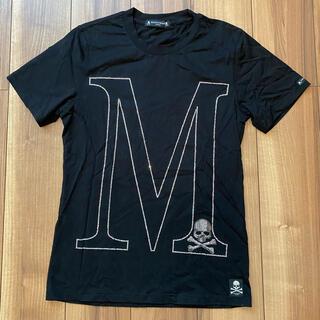 マスターマインドジャパン(mastermind JAPAN)のスワロフスキー Mロゴ スカル tシャツ 黒(Tシャツ/カットソー(半袖/袖なし))