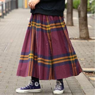 BEAMS BOY - BEAMSBOY♡ビッグタータンスカート♡ビームスボーイ