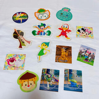 ミッキーマウス(ミッキーマウス)の香港ディズニーランド ステッカー シール ミッキー(キャラクターグッズ)