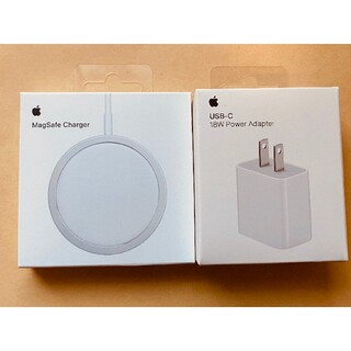 アップル純正 MagSafe Charger 充電器 18Wアダプタ 新品未使用