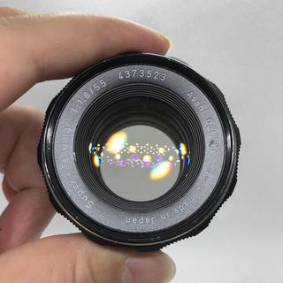 PENTAX - PENTAX スーパータクマー 55mm f1.8 後期品。