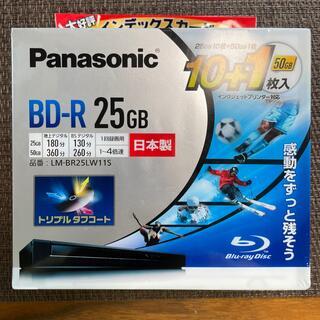 パナソニック(Panasonic)の未使用 BD-R 25GB 10枚+1枚 Panasonic(その他)