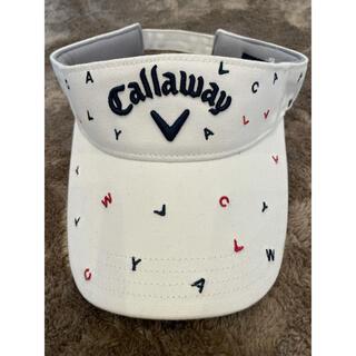 Callaway Golf - キャロウェイ サンバイザー ゴルフ