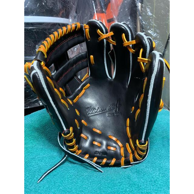 wilson(ウィルソン)のWilson  限定キップレザー 硬式内野手用グラブ DS型 定価66,000円 スポーツ/アウトドアの野球(グローブ)の商品写真