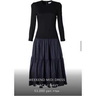 WEEKEND MIDI DRESS ブラック38