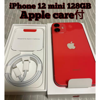iPhone - Apple care+付 iPhone 12mini(PRODUCT)RED