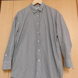 UNIQLO - ユニクロストライプシャツ美品
