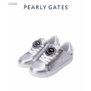 PEARLY GATES - 新品未使用 PEARLY GATES レディース ゴルフシューズ スニーカー
