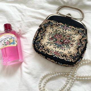 Lochie - vintage  ゴブラン織りバッグ