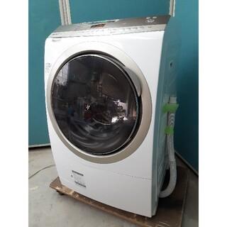 SHARP - シャープドラム式洗濯乾燥機10kg/6kg 音声ガイド付き ES-Z210-NL