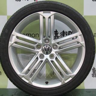 フォルクスワーゲン(Volkswagen)のフォルクスワーゲン 13C系 シロッコR純正 4本セット(タイヤ・ホイールセット)