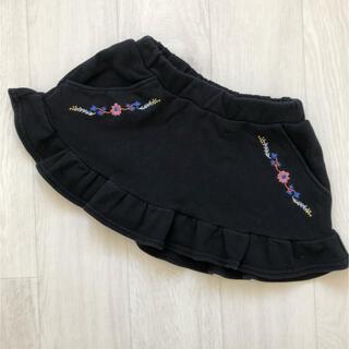 ブランシェス(Branshes)のブランシェス スカート 120 刺繍 花(スカート)